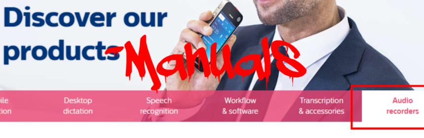 Need Help Finding a User Manual? | Speech Blog
